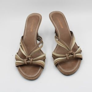 Enzo Angiolini Heels Strappy Sandals Size 8.5
